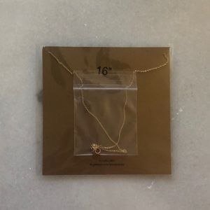 Dogeared Jewelry - NWT Dogeared small gold Karma necklace